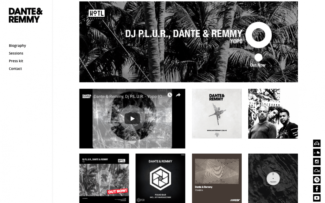 Website – Dante & Remmy